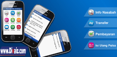 Pengiriman uang SMS Banking - www.divaiz.com