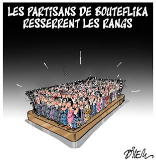 Les partisans de Bouteflika resserrent les rangs