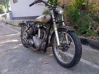 LAPAK MOTOR TUA : Dijual Moge Tua BSA BB31 - ACEH