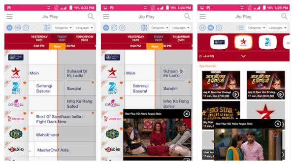 Image result for jio tv