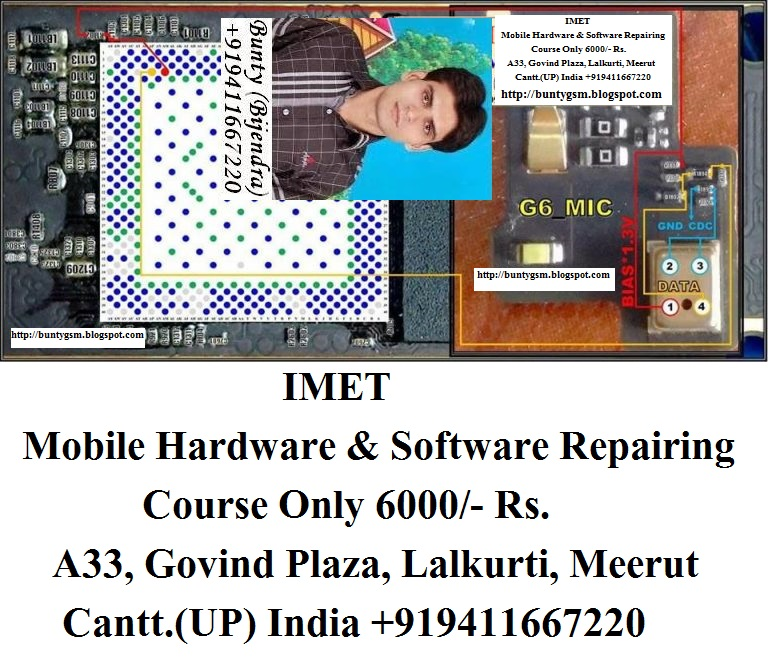Huawei Ascend G6 MIC Problem Solution Jumper Ways By IMET