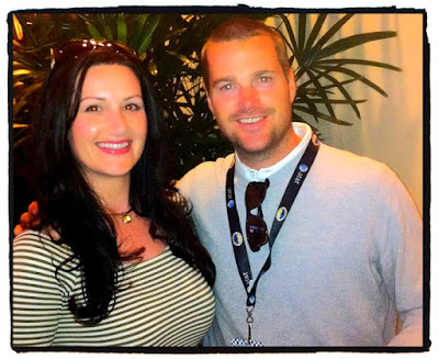Chris O'Donnell at AT&T Pebble Beach National Pro-Am Golf Tournament