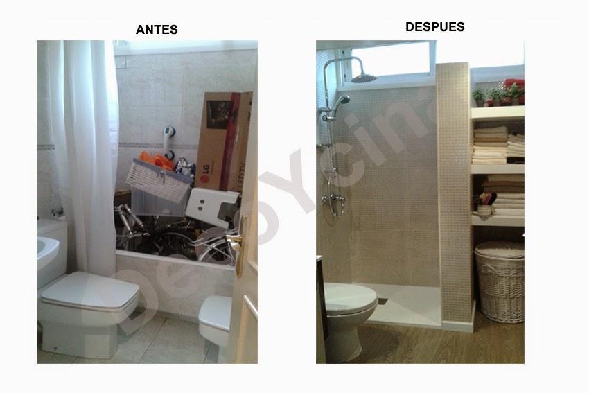 la cocina que os muestro en las dos fotos de arriba se consigui el cambio sin ninguna obra colocando sobre el solado existente el suelo de