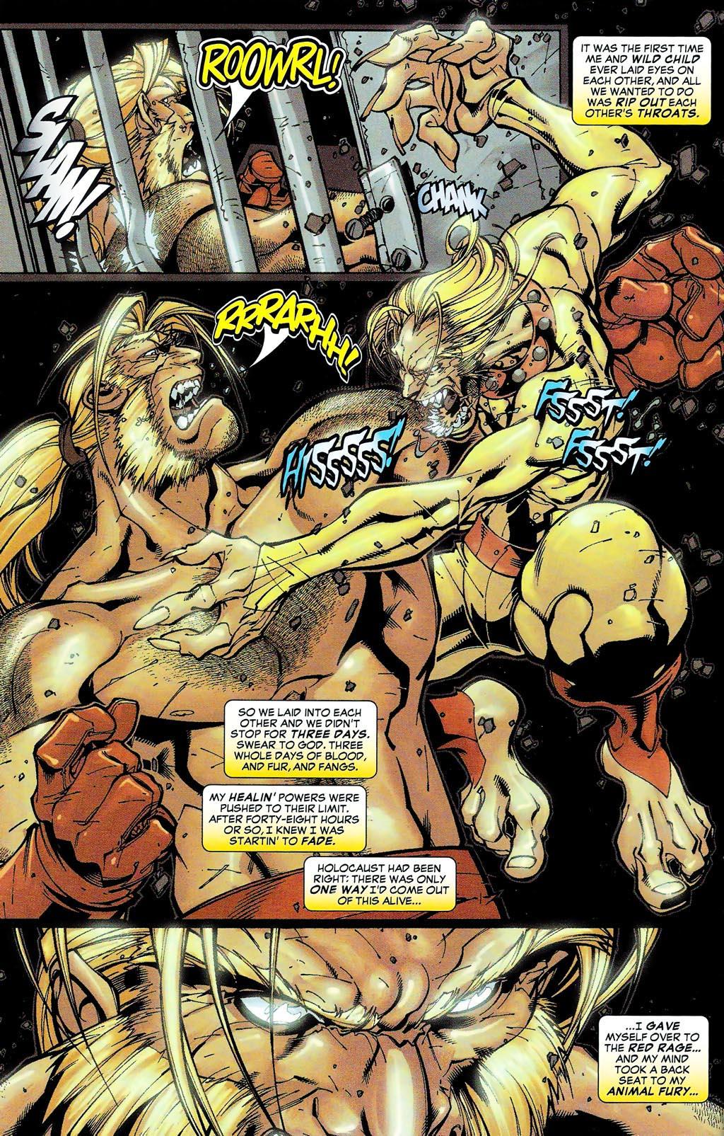 Read online Age of Apocalypse (2005) comic -  Issue #0 - 12