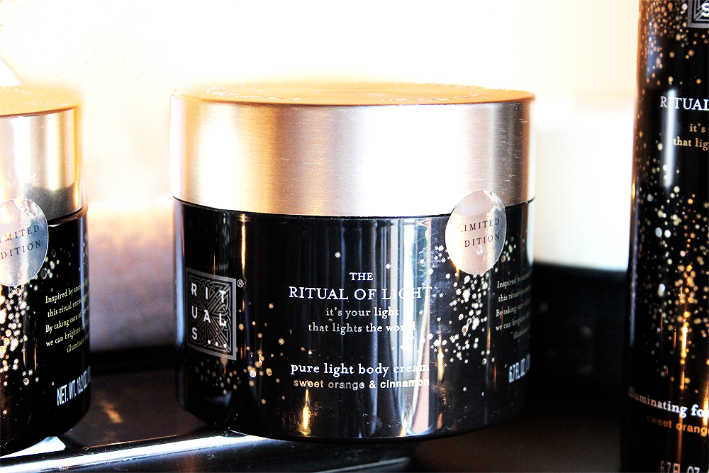 The Ritual of Light Pure Light Body Cream review