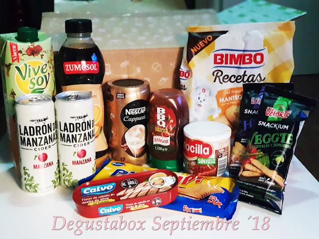 Caja DegustaBox -  Septiembre ´18