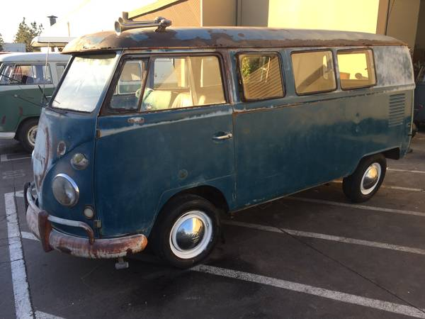 Potential To Restore VW Bus Kombi 1966 | vw bus wagon