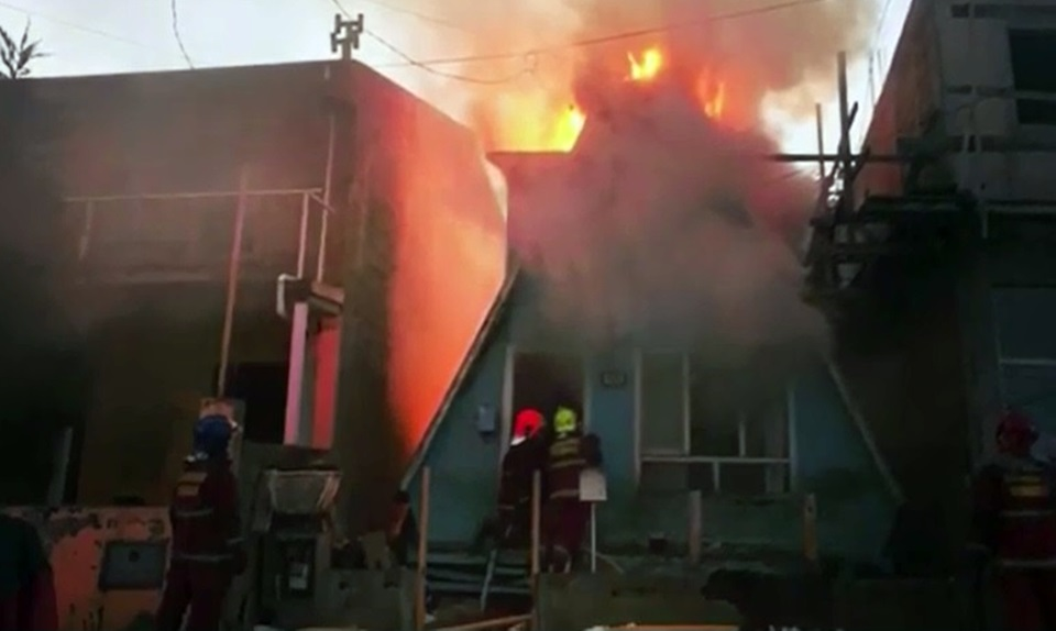 Incendio en Ushuaia destruyo una alpina