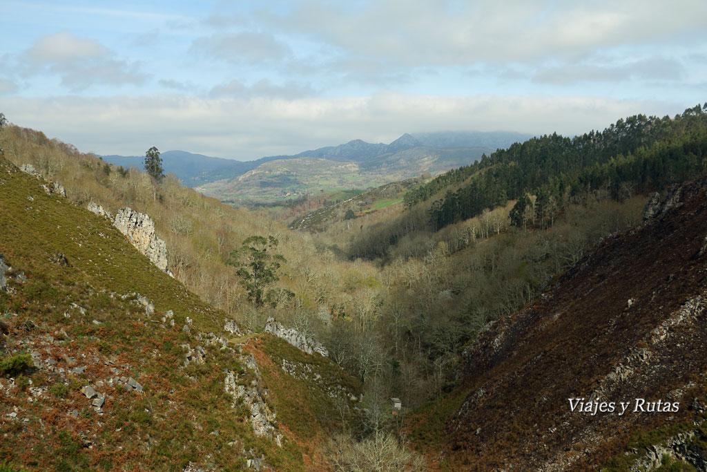 Valle de la Ruta del Chorrón, Asturias