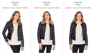 chaquetas baratas para mujer 1