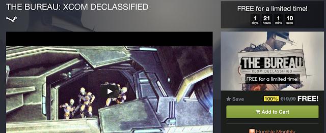 The Bureau: XCOM Declassified gratis para Steam (PC)