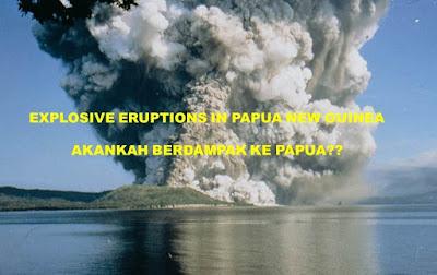letusan gunung berapi di papua nugini