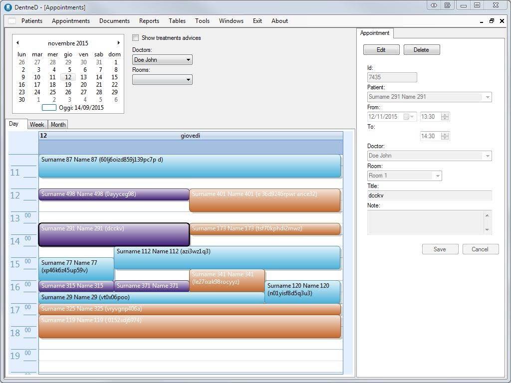 Davide Gironi: DentneD: an open source Dental Practice Management