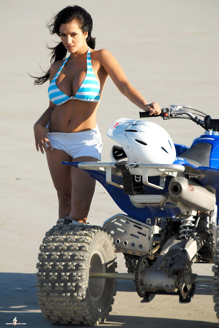 Denise Milani ATV hot and sexy Photoshoot picture 10