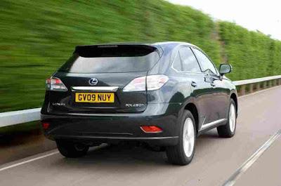 Lexus RX 2009-2015 Car Rear Photos