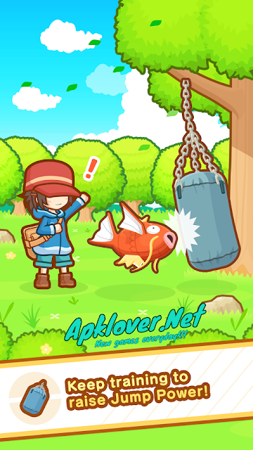 Pokemon Magikarp Jump MOD APK unlimited money