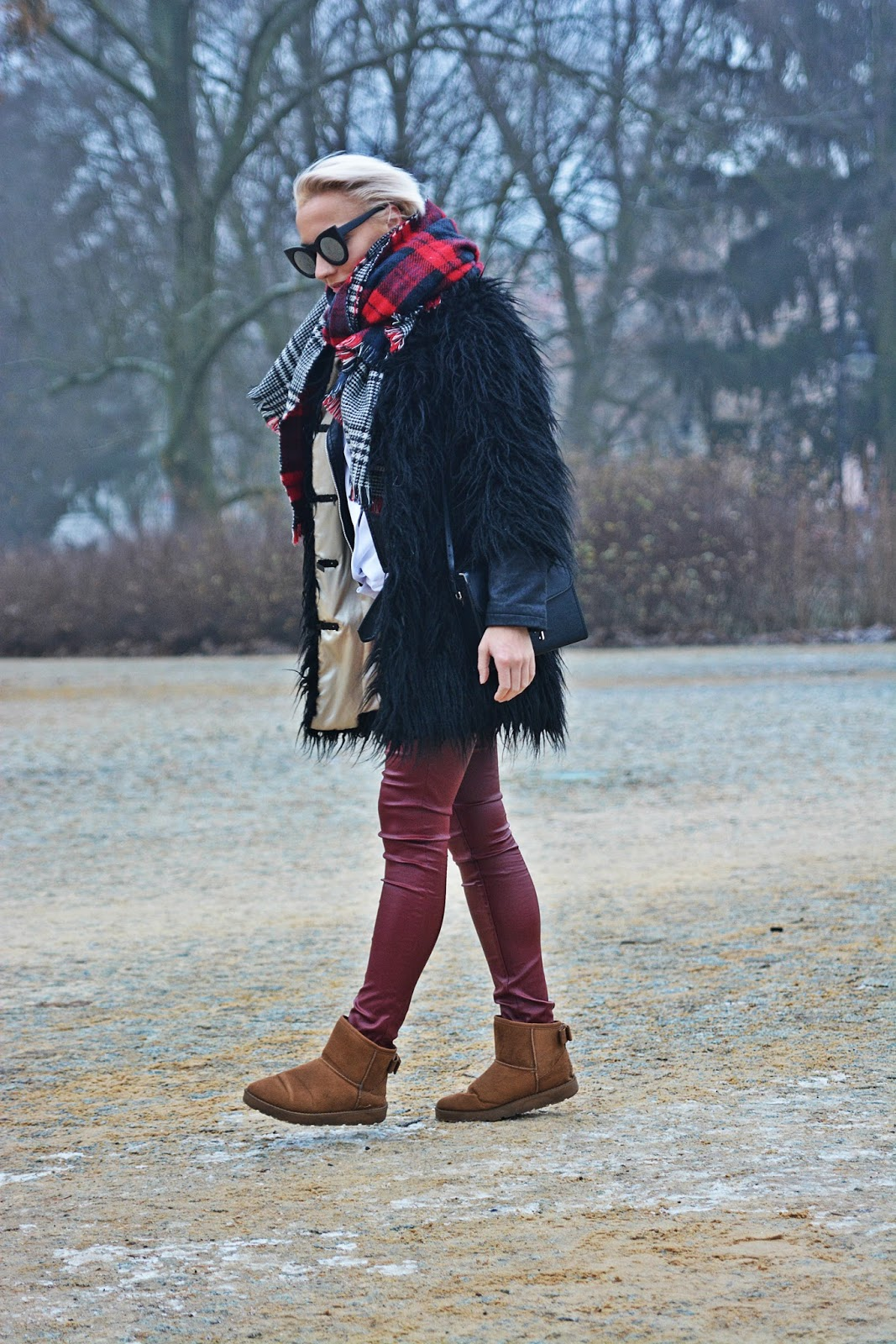 emu_boots_camel_black_fur_plaid_scarf_karyn_130117