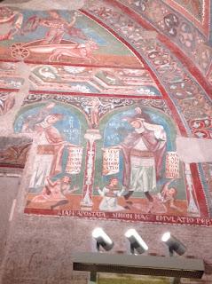 aula 1 gotica guia portuugues dx detail - Aula Gótica e o afresco no século XIII em Roma