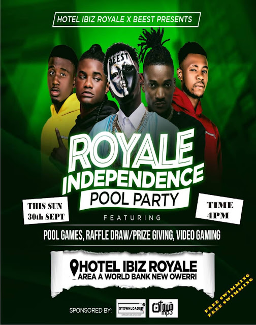 EVENT: Hotel Ibis Royale presents Royale Independent Pool Party   @Dabeestsaint @talkingwilly