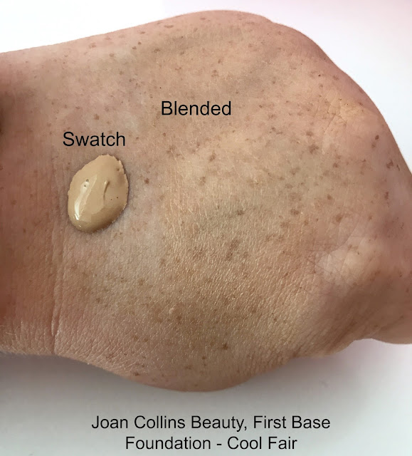 Joan Collins First Base Foundation Swatch