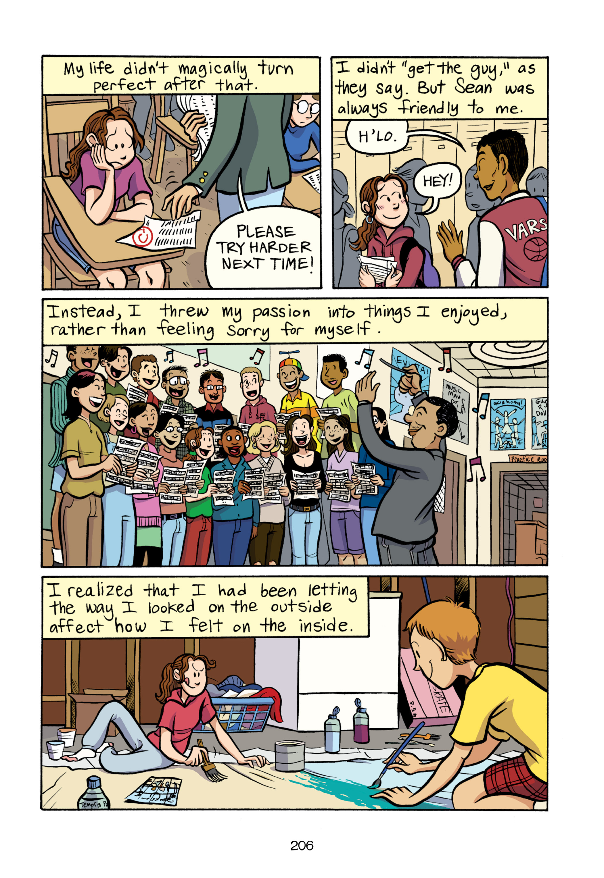 Read online Smile comic -  Issue # TPB - 212