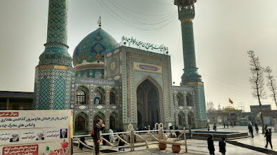 Imamzadeh Saleh Mosque At Tajrish Square In Tehran Iran Travel Blog