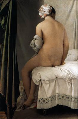 ean-Auguste-Dominique Ingres, La bagnante di Valpinçon