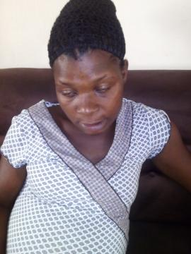 efcc officer lady pregnant