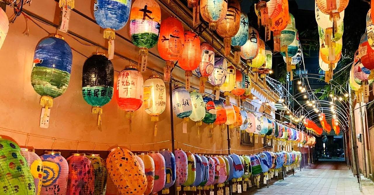 [活動] 過年新景點|鄭成功祖廟花燈隧道|逾千燈籠飄濃濃年味
