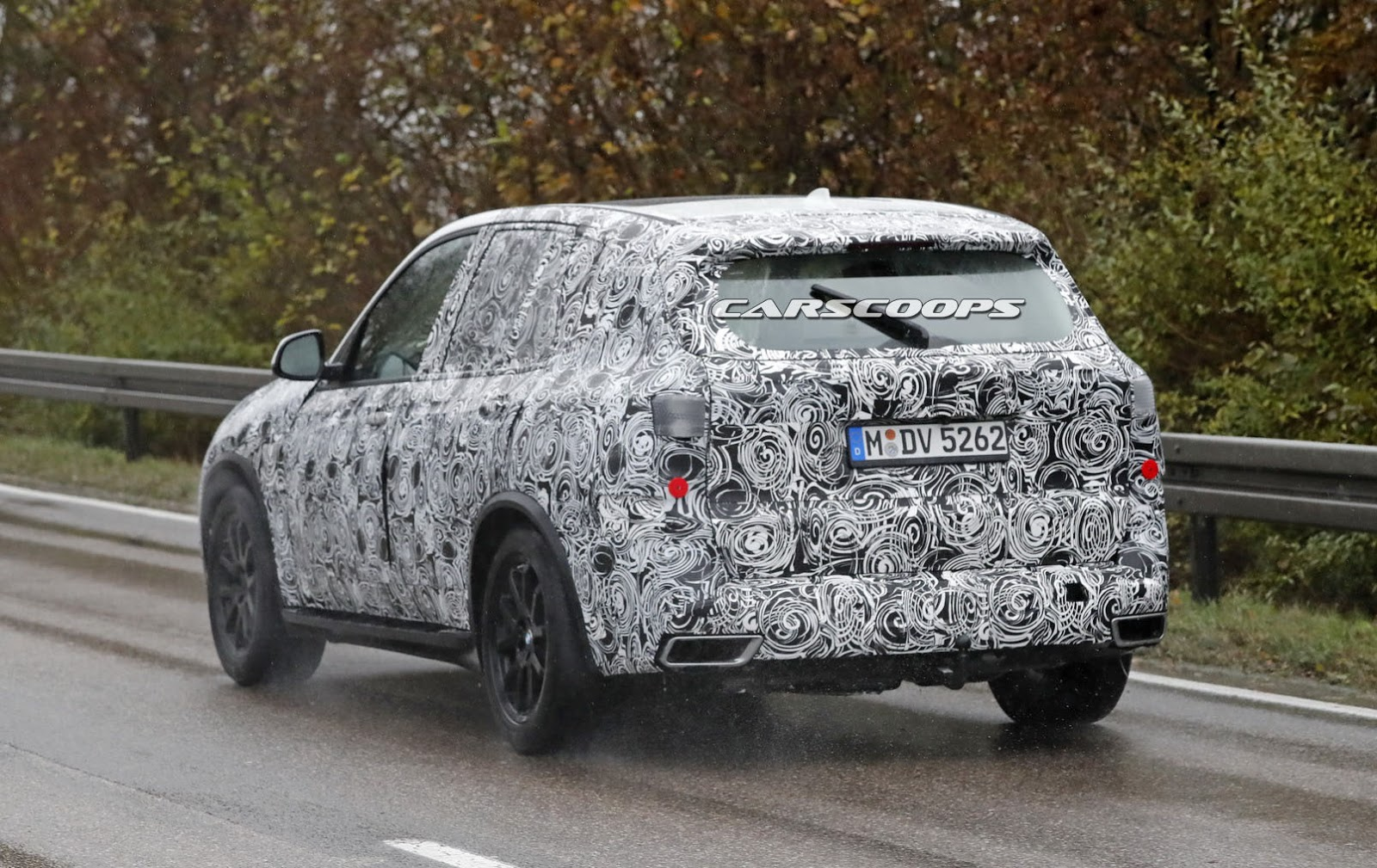 2018 Bmw X5 Spotted Wearing Its Final Production Body