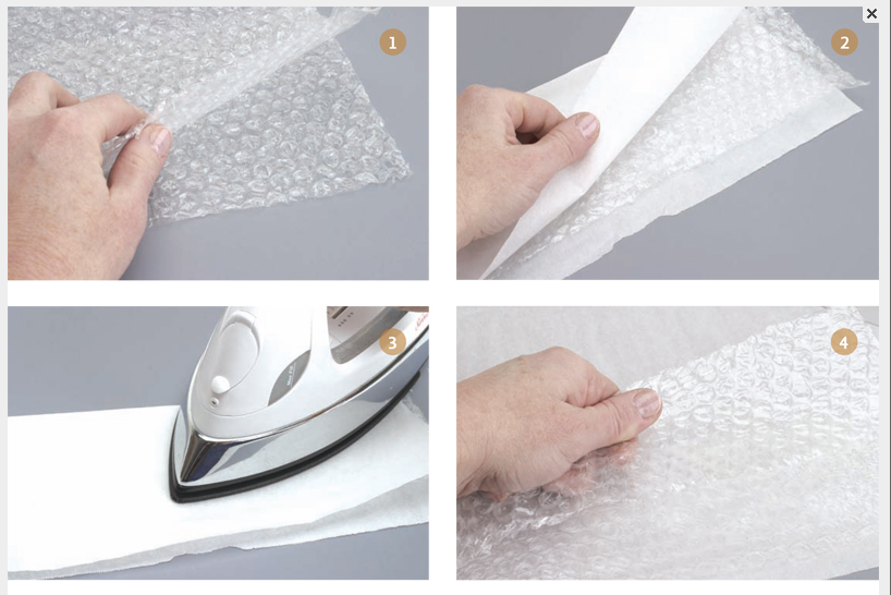 bubblewrap beads