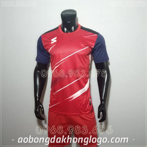 Áo bóng đá không logo TL Zavikia  màu đỏ