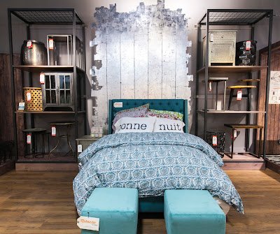 Bedroom Vignette at Cost Plus World Market