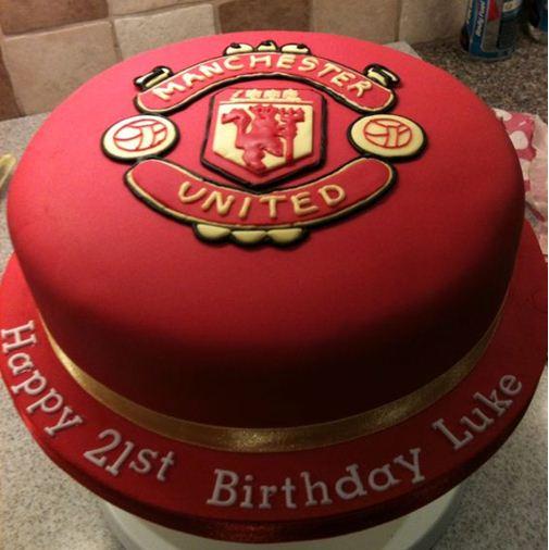 Foto Kue Ulang Tahun Manchester United