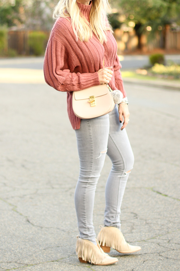 sweater jeans and boots for womens looks