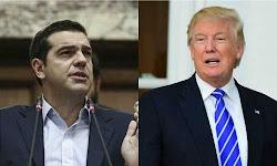 h-prwth-epikoinwnia-tsipra-tramp