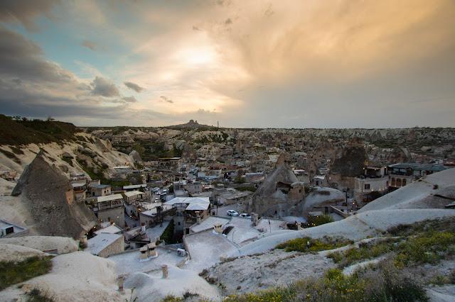 Goreme flag-view point-Cappadocia