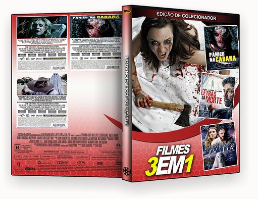 FILMES 3X1 – Letras da Morte, Panico na Cabana e Sombras da Vida – ISO
