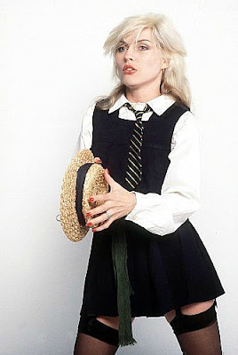 Debbie Harry's Schoolgirl Look