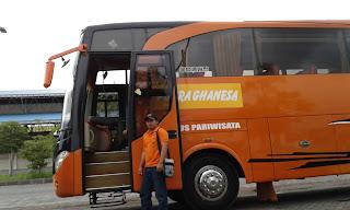 rental Bus Pariwisata PO. Putra Ghanesa Surabaya