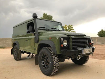 Land Rover restaurado