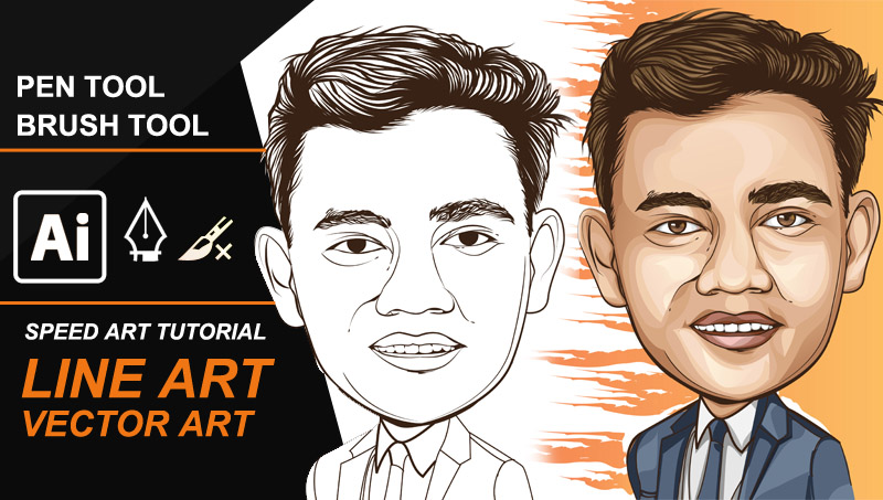 Line Art Photo Tutorial : How to make line art and coloring speed tutorials ideosprocess