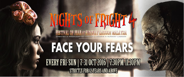 Nights Of Fright 4 Kembali Menghantui Di Sunway Lagoon