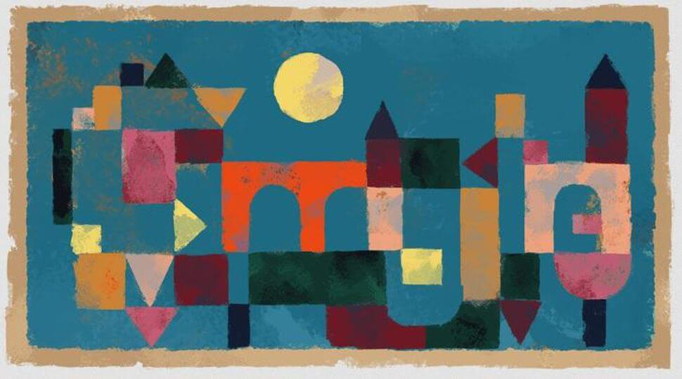 Google Doodle celebrates colors of artist Paul Klee