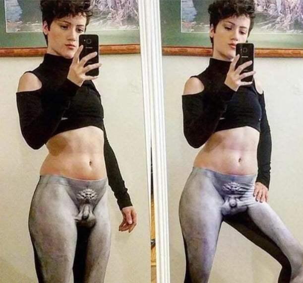 Lindas calças de ginásio