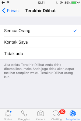 Tutorial Agar Whatsapp Terlihat Tidak Online Oleh Orang Lain 5