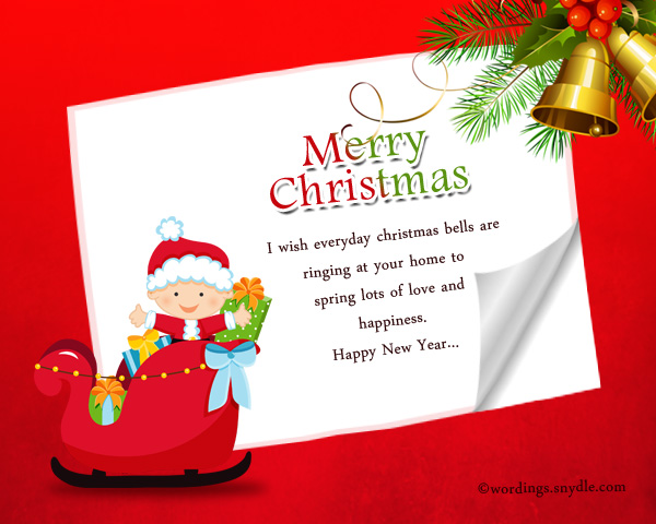 Christmas Messages for Friends and Family