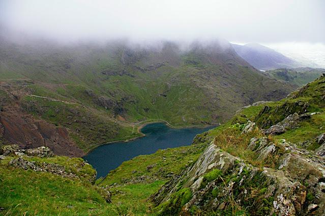 Snowdonia najwyższa góra w Walii w parku Narodowym