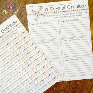 Want a free copy of the 12 Days of Gratitude template?