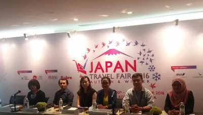 Jadwal Japan Travel Fair 2016 Periode Dua